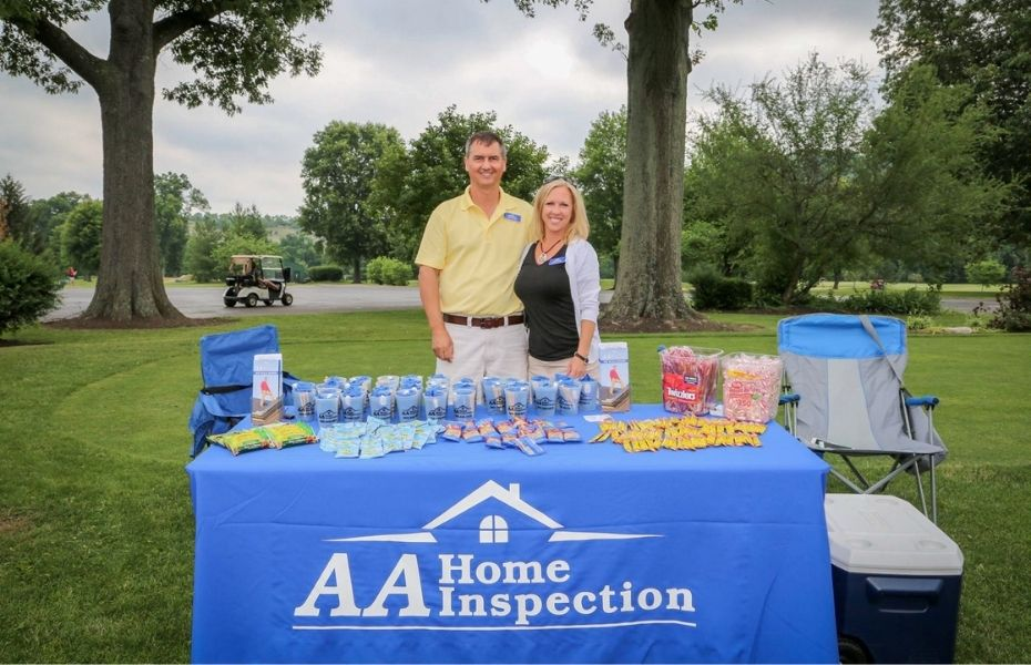 AA Home Inspection supporting a Cincinnati community event