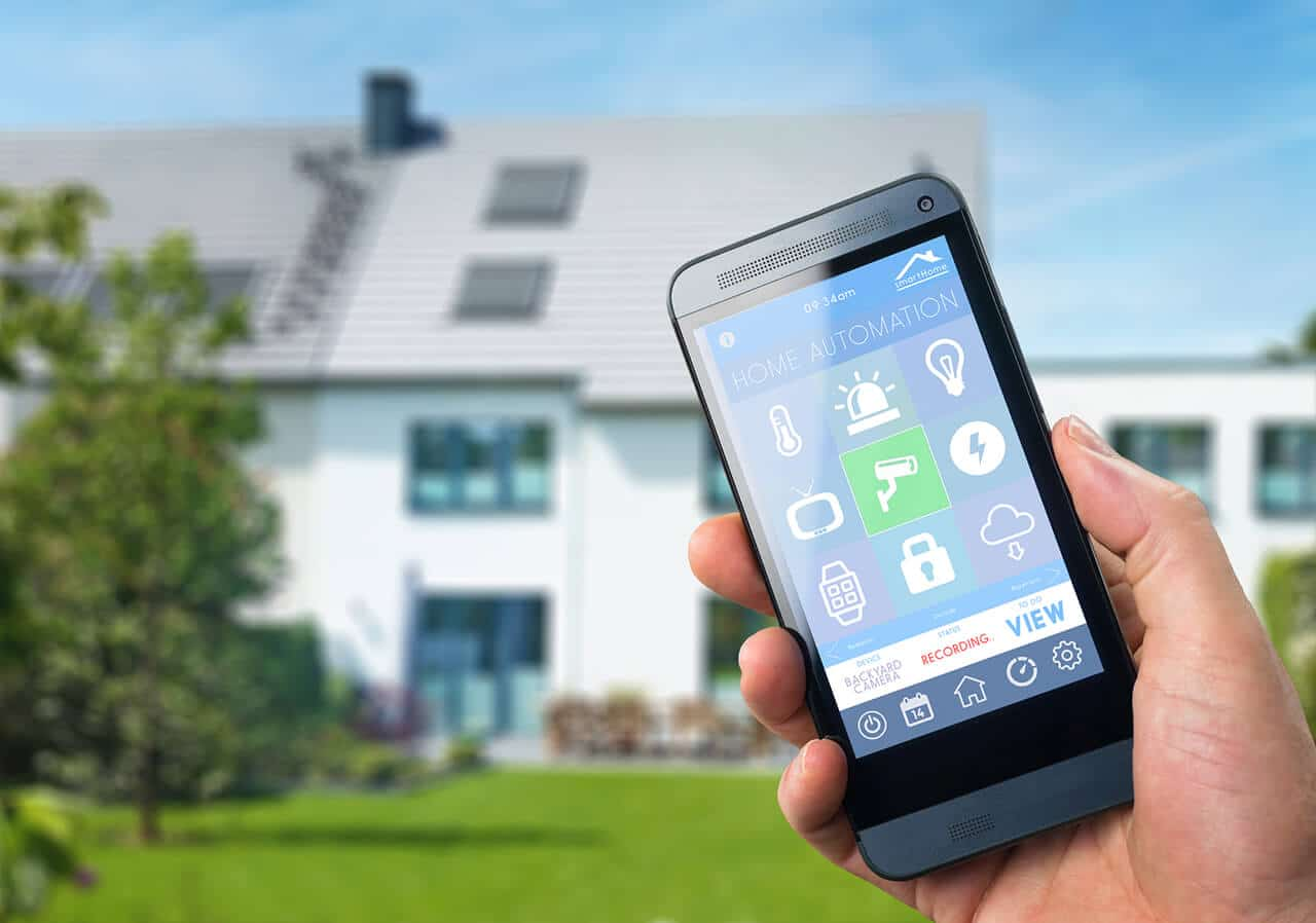 smart home apps are one way to prepare your home before vacation